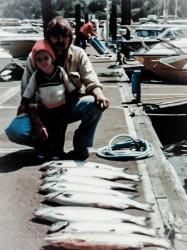 Jason and His Dad Fishing