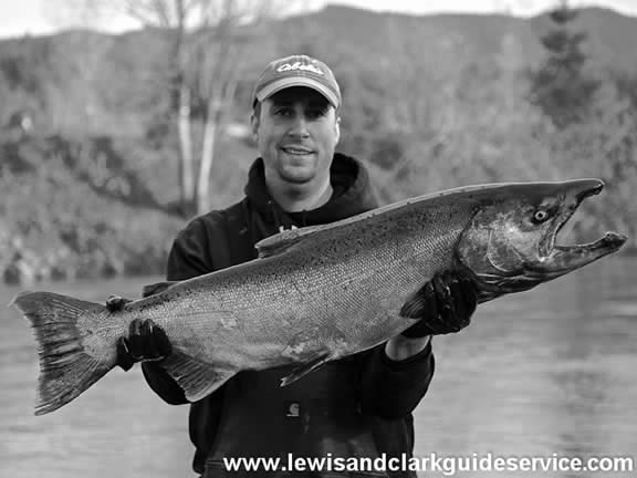 Jason Lewis Fishing Guide Oregon